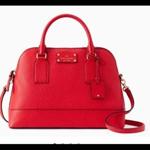 NWT Kate Spade Hot Chili Red Satchel